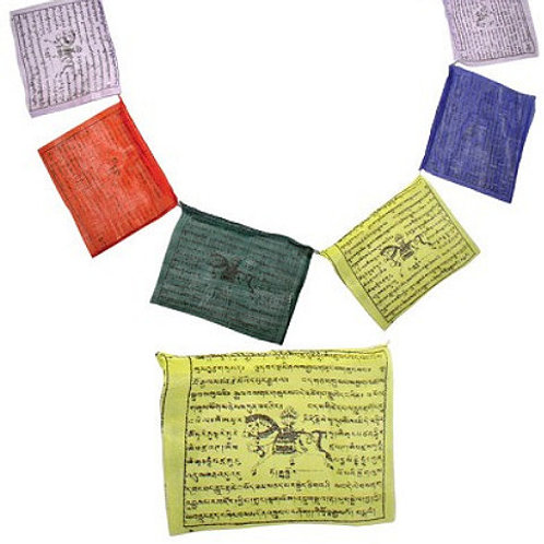 Prayer Flags - Sets of 25 (5 inch x 7.5 inch) (5)  Prayer Flags