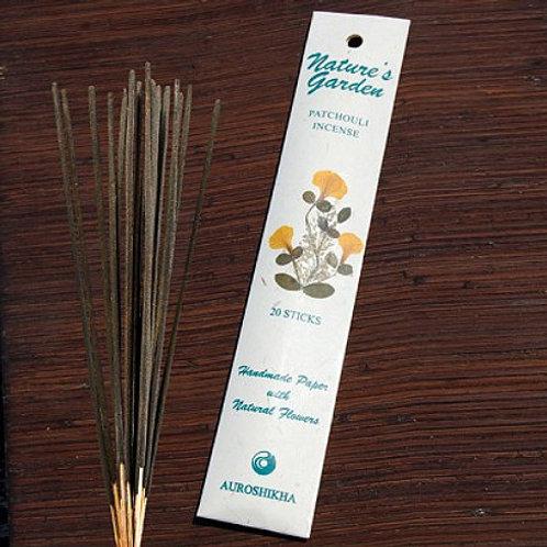 Natures Garden Incense Sticks - Patchouli