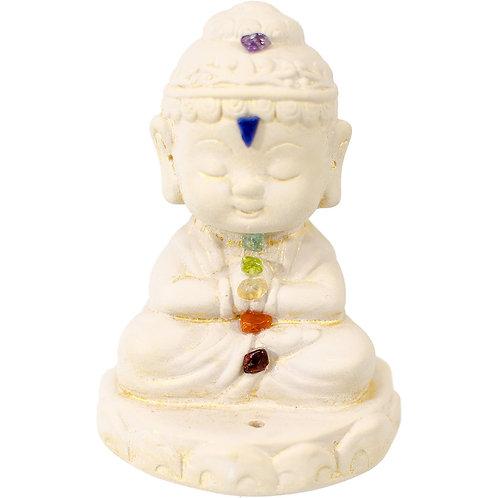 Buddha Statue Incense Holder - Chakra