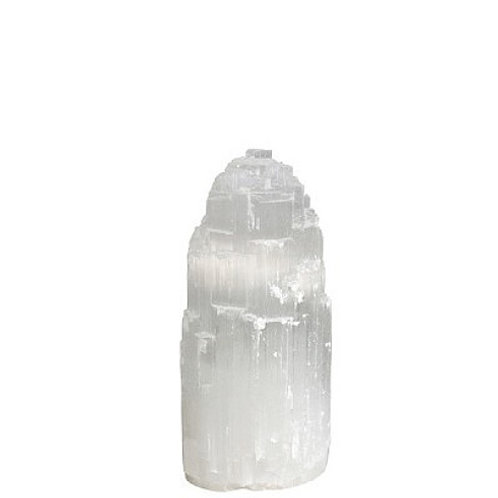 Selenite Mountain Lamp - Small