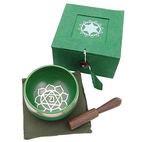 Singing Bowl - Green (3 inch)