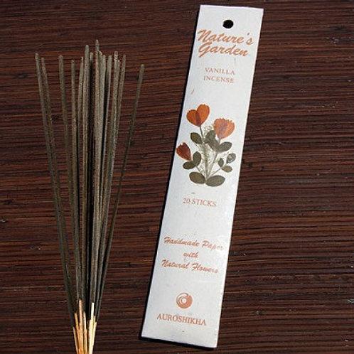 Natures Garden Incense Sticks - Vanilla