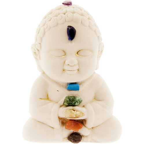 Buddha Figurine - Chakras