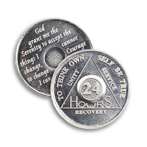24 Hour AA Medallion