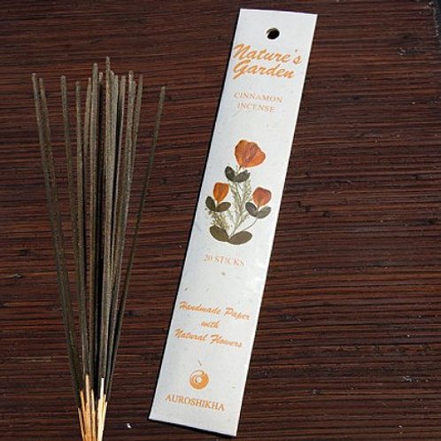 Natures Garden Incense Sticks - Cinnamon