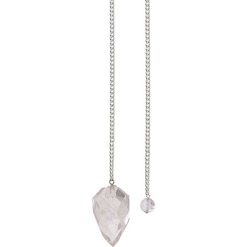 Pendulum Light Diffuser Clear Quartz