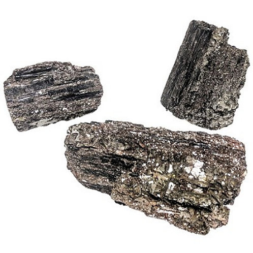 Black Tourmaline with Mica (Rough)