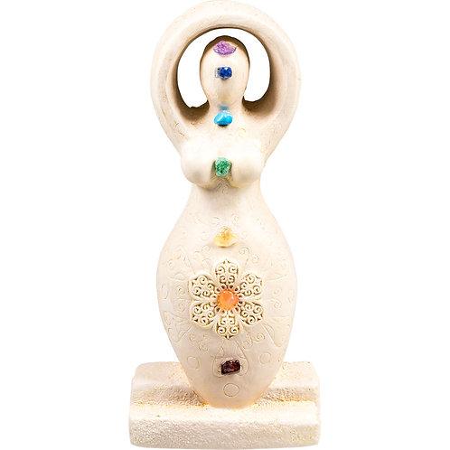 Goddess Figurine - Chakras