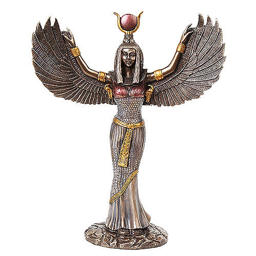 Egyptian Isis - Bronze Statue