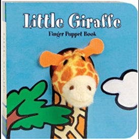 Little Giraffe: Finger Puppet Book