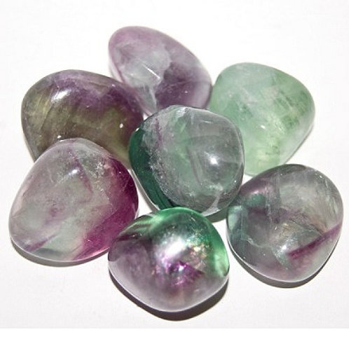 Tumbled Stone - Fluorite
