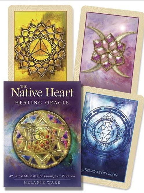Native Heart Healing Oracle: 42 Sacred Mandalas for Raising Your Vibration
