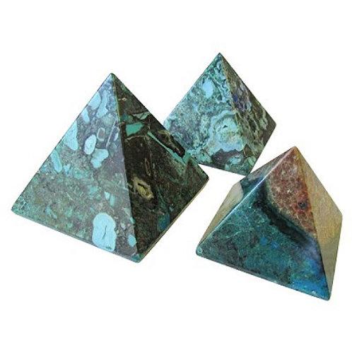 Pyramid - Chrysocolla