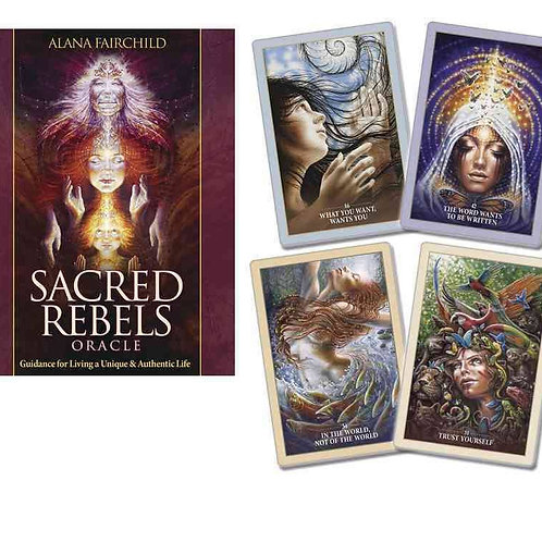 Sacred Rebels Oracle: Guidance for Living a Unique & Authentic Life