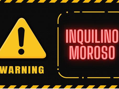 WARNING RISCHIO INQUILINO MOROSO: COME PREVENIRE