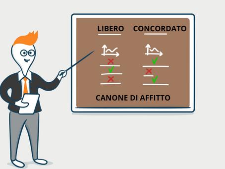 CONTRATTO A CANONE LIBERO O CONTRATTO A CANONE CONCORDATO?