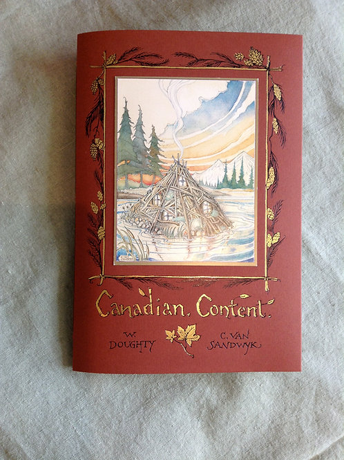 """""""Canadian Content"""" by Charles Van Sandwyk"""