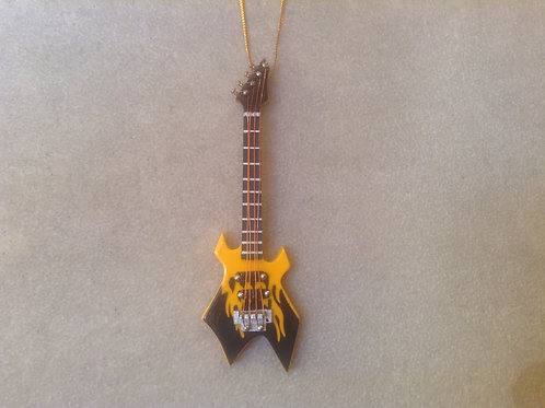 Yellow Flame Electric Guitar