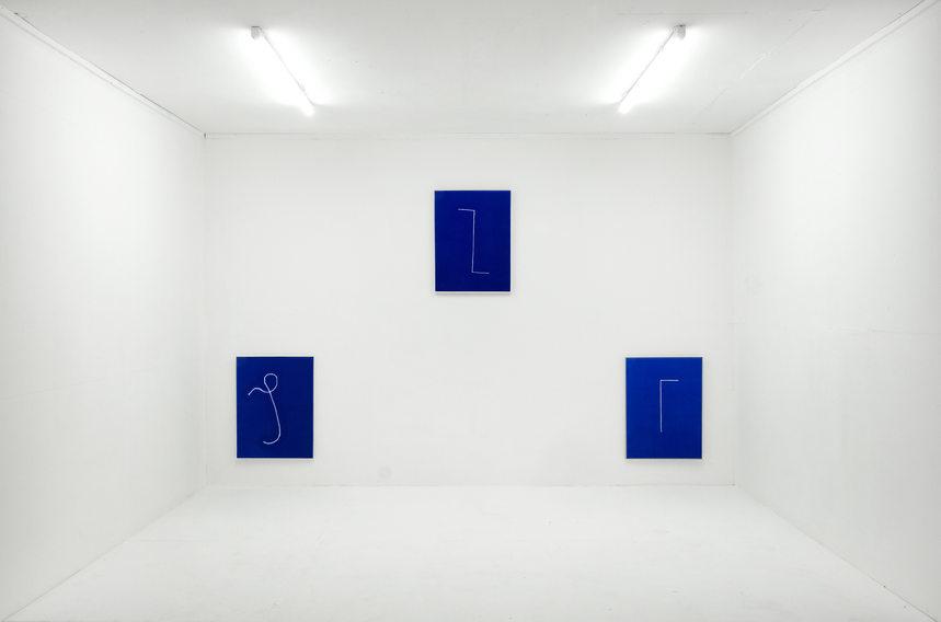 """Exhibition """"Schleicher"""" 2021, In the Box Sootbörn Hamburg"""