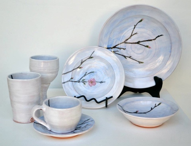 Cherry Blossom Dinner Set