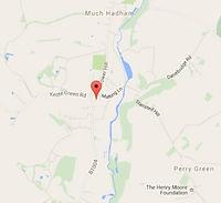 map much hadham hertfordshire the injury clinic