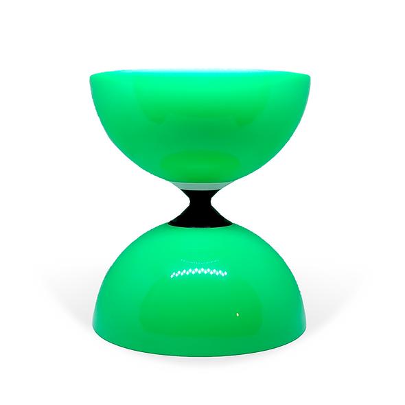 Green Fly Single Bearing Diabolo