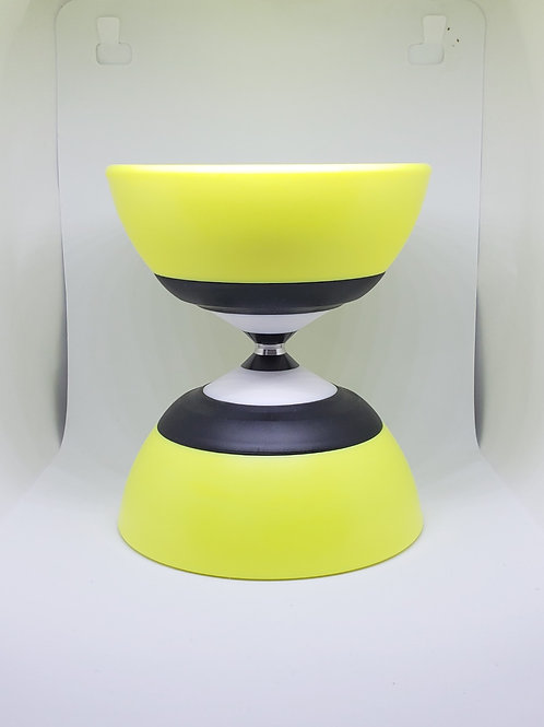 Yellow Evolution Fixed Axle Diabolo
