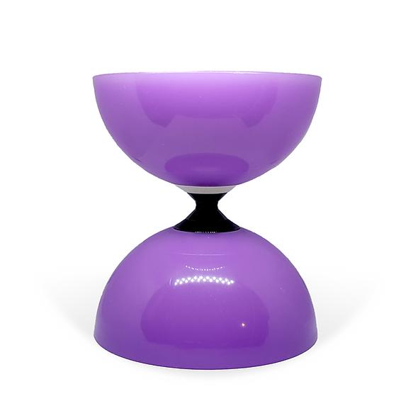 Purple Fly Single Bearing Diabolo