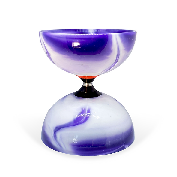 Purple Marble Triple Bearing