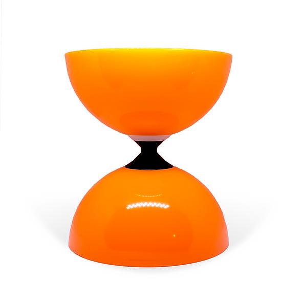 Orange Fly Single Bearing Diabolo