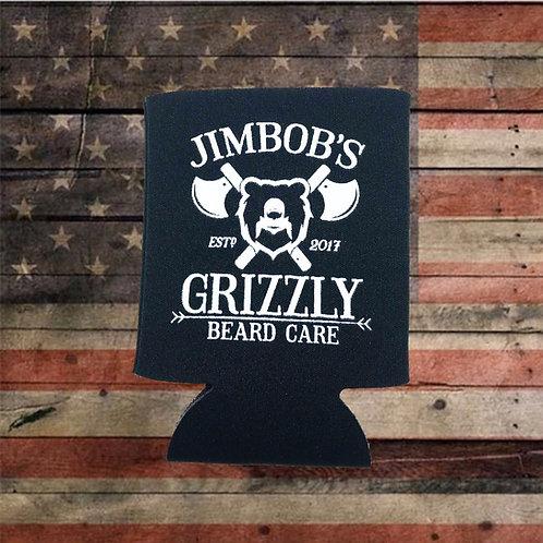 Grizzly Beer Koozie