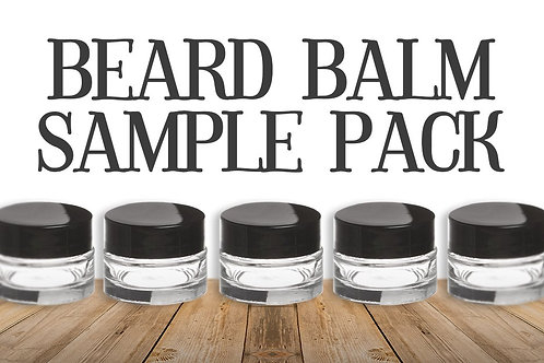 JIMBOB'S GRIZZLY BEARD BALM Sample Pack