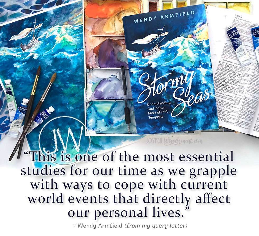 learning to cope, dealing with struggles, encouragement, hope in world events, storms, christian book