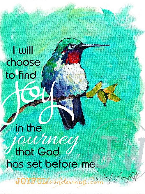 Joy in the Journey -- Art Print