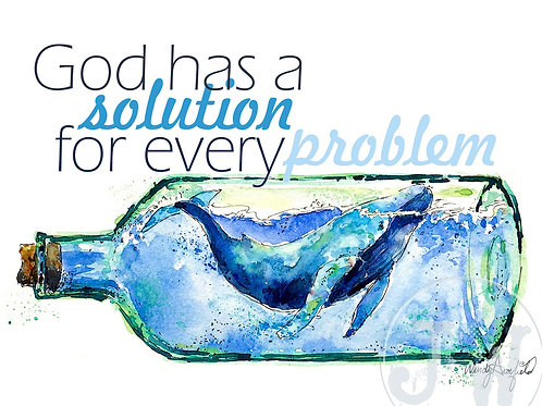 Solution to Every Problem -- Art Print