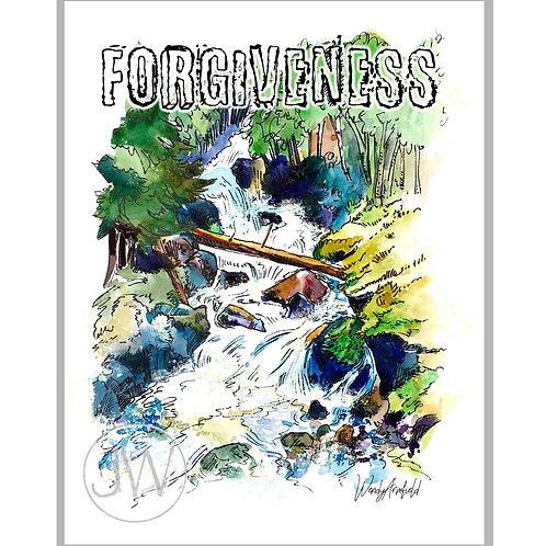Forgiveness Like a River ~ Art Print