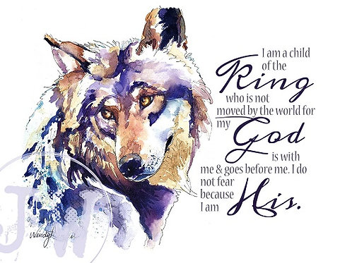 Child of the King ~ Art Print