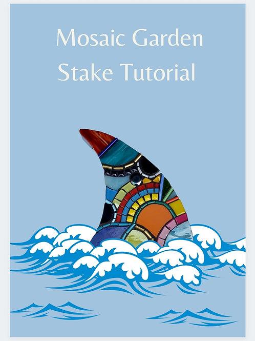 Garden Mosaic Stake Tutorial PDF
