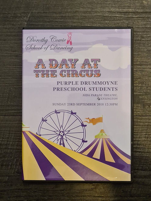 2018 'A Day at the Circus' - Concert DVD