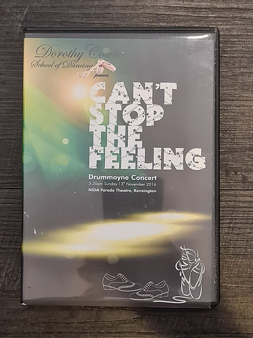 2016 'Can't Stop the Feeling' - Concert DVD