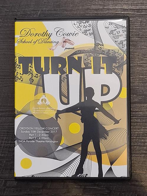 2017 'Turn It Up' - Concert DVD