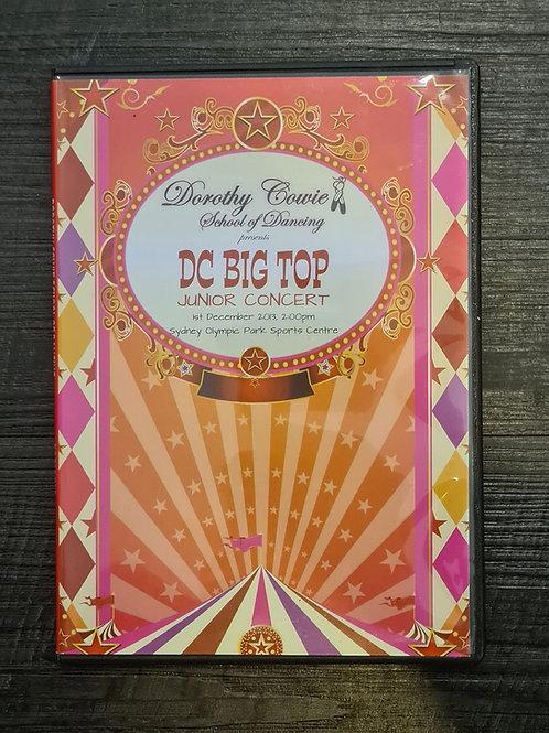 2013 'DC Big Top' - Concert DVD
