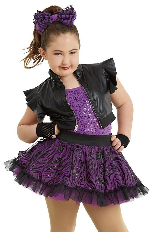 Purple Tutu & Black Vest