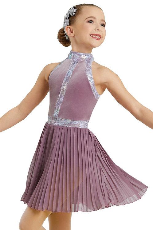 French Mauve Dress