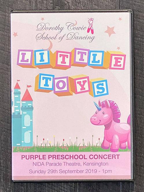 2019 - 'Little Toys' - Concert DVD