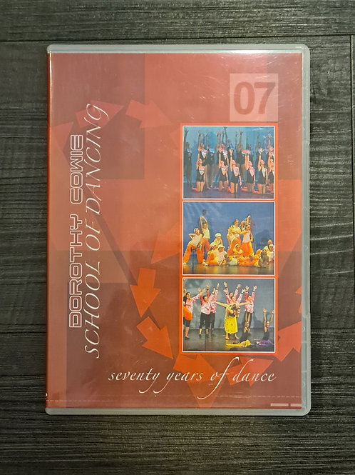2007 'Seventy Years of Dance' - Concert DVD