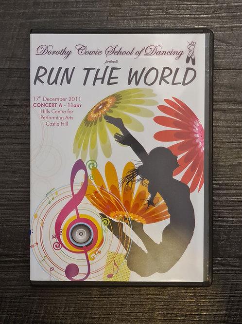 2011 'Run the World' - Concert DVD