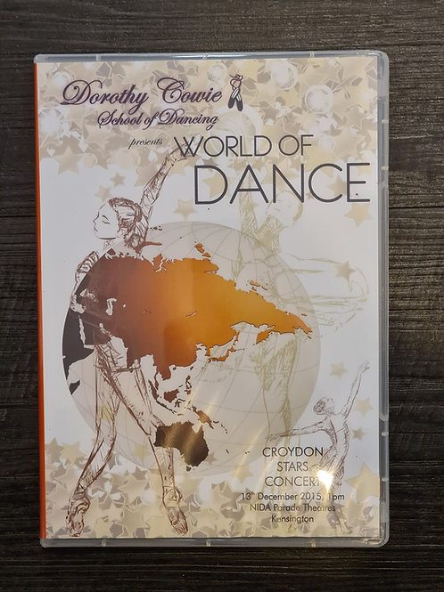 2015 'World of Dance' - Concert DVD