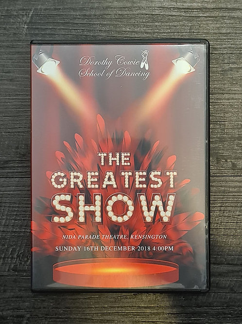 2018 'The Greatest Show' - Concert DVD
