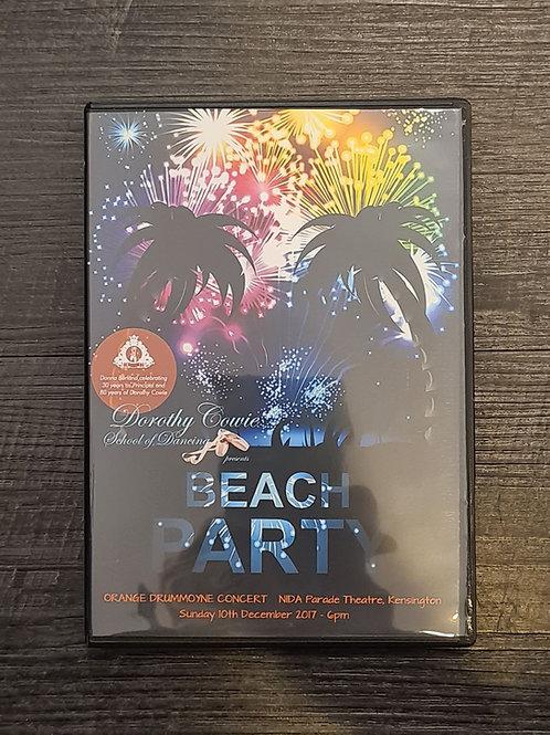 2017 'Beach Party' - Concert DVD
